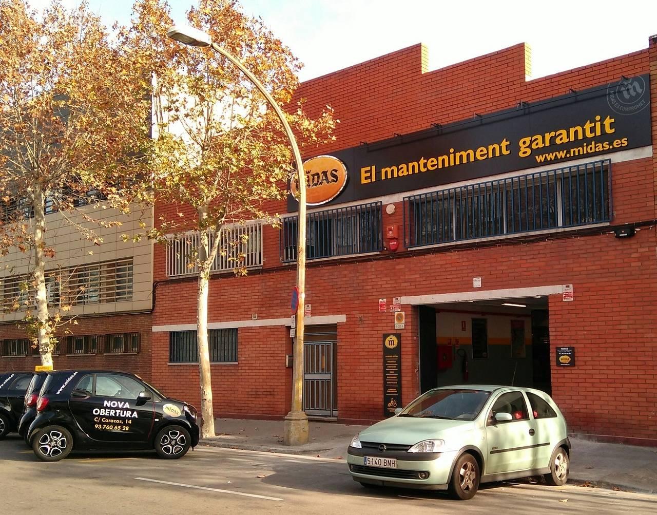 Midas abre un nuevo centro en barcelona nexotrans - Barrio de sant andreu ...