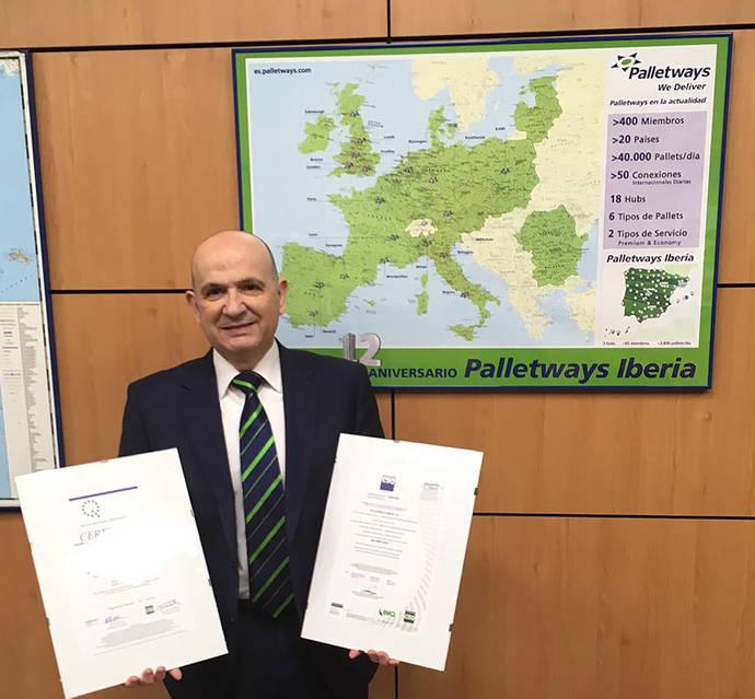 Palletways Iberia logra la certificación ISO 45001:2018 sobre Seguridad y Salud Laboral