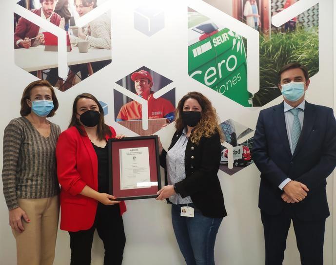 Seur recibe el certificado ISO 45001 de Seguridad y Salud en el Trabajo
