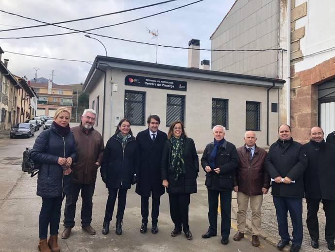 Castilla y León invierte 121.242 euros en la terminal de autobuses de Cervera