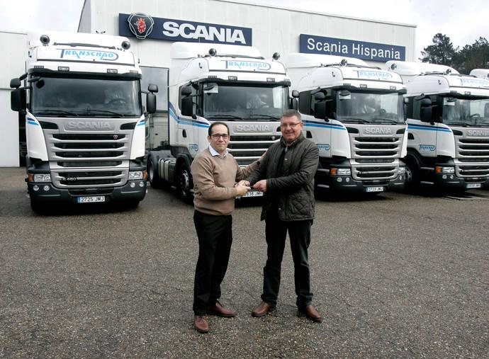 Transportes Chao de Curra incorpora 10 unidades Scania a su flota