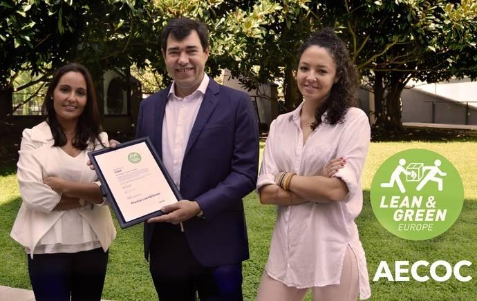 Chep España recibe el premio Lean & Green de sostenibilidad