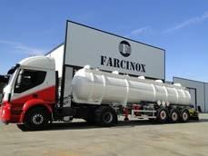 Camión cisterna de Farcinox.