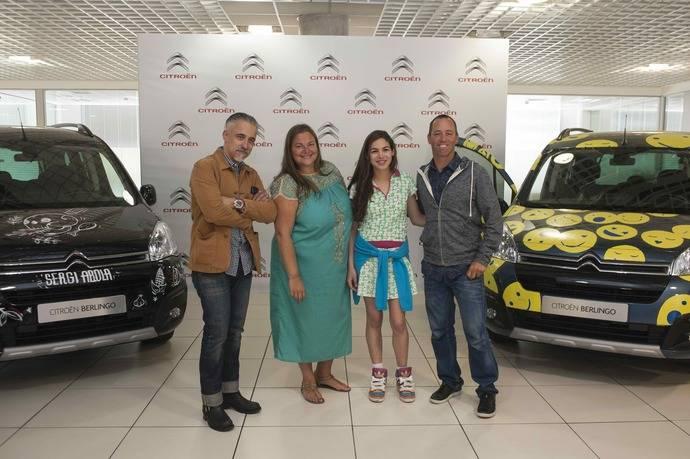 El Citroën Berlingo cumple 20 años y lo celebra con emprendedores españoles