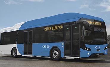 VDL entrega dos Citea para la línea de bus de Helsinki