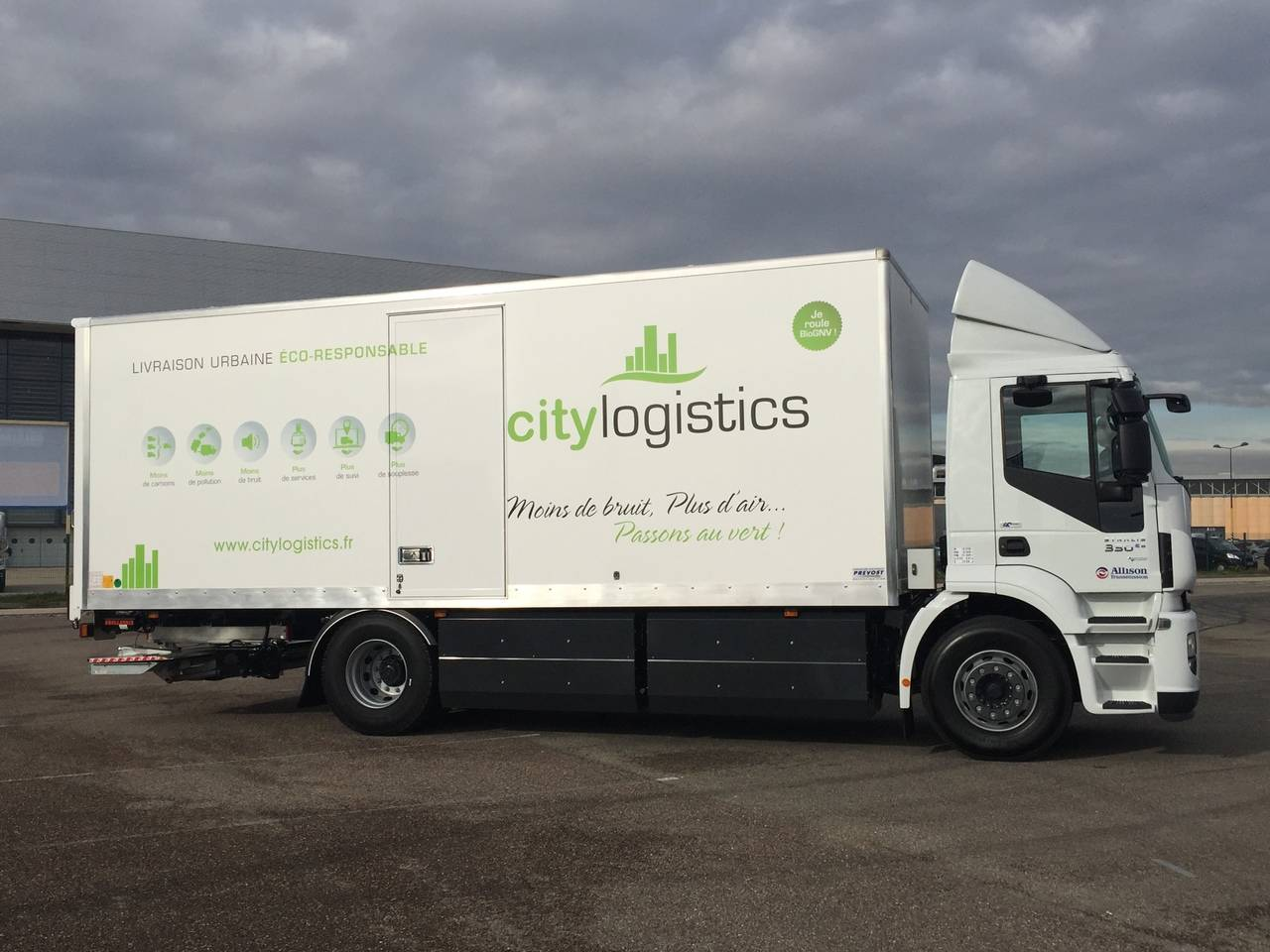 City Logistics idea distribución urbana con camiones de gas