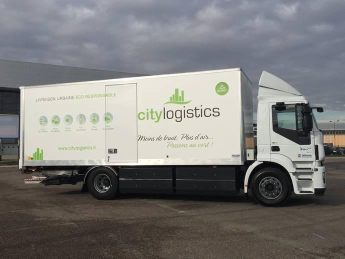 City Logistics idea distribución urbana con camiones de gas