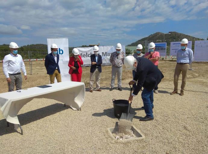Comienzan las obras de la nueva cochera de la flota de TIB en Alcúdia, Mallorca