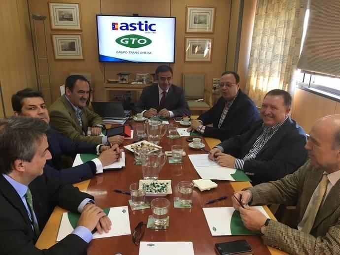 El Comité Ejecutivo de Astic se reúne por primera vez en la provincia de Huelva