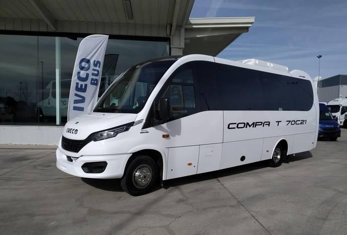 El Road Show de Iveco muestra su nuevo chasis Daily 70C21 y Unvi presenta su exitoso Compa T sobre esta nueva plataforma