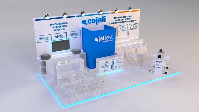 Cojali presenta en Comtrans 2019 sus novedades para vehículos industriales