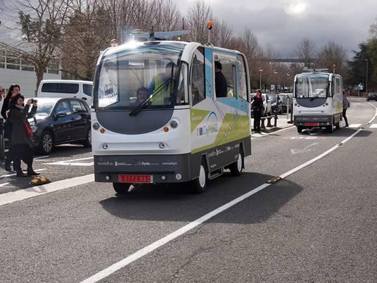 Autobuses del proyecto CityMobil2.