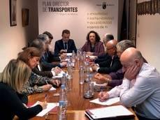 Constitución de la Mesa del Transporte de Municipios.