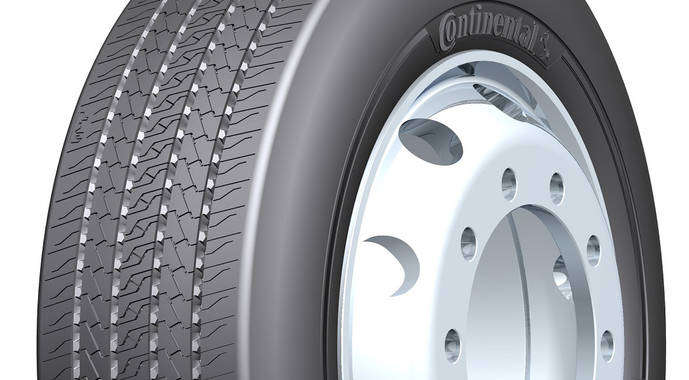 Nuevos neumáticos Continental de 19.5