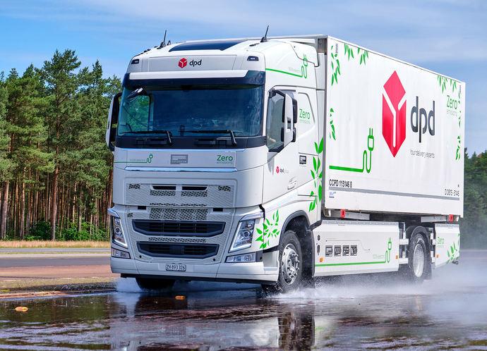 Continental prueba neumáticos para camiones eléctricos en el Contidrom