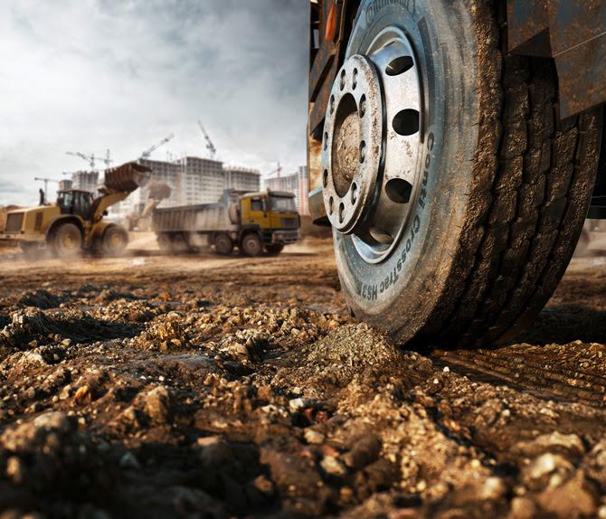 Continental diseña una nueva gama para aplicaciones de construcción