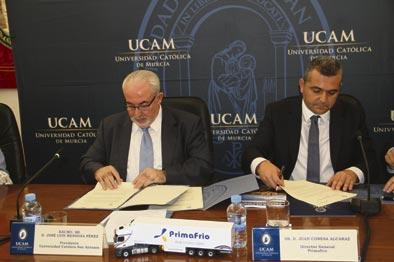 La UCAM y Primario firman un acuerdo para fomentar la formación en RSC