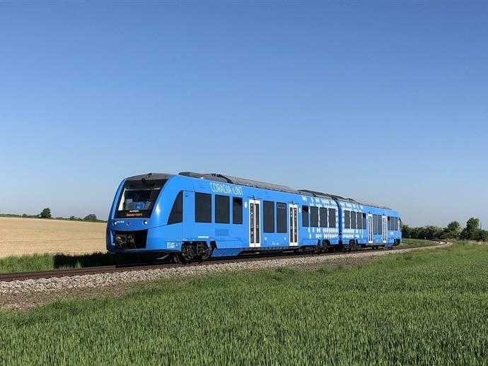 Primer tren de hidrógeno en los Países Bajos