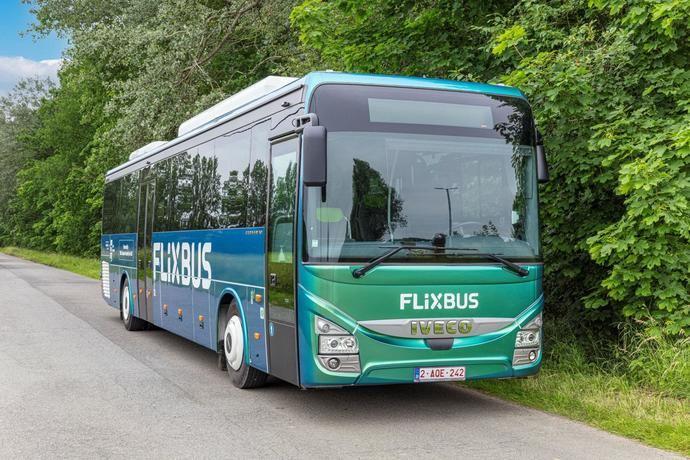 FlixBus apuesta por el Iveco BUS Crossway Natural Gas, con biometano