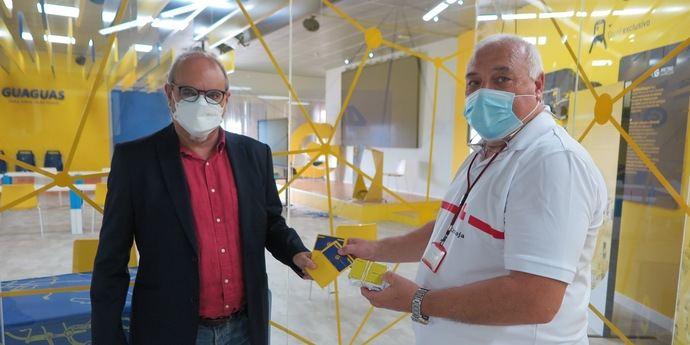 GM cede 50 bonos de transporte a Cruz Roja