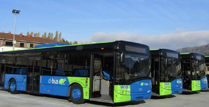 Menos consumo y emisiones de buses diésel de Dbus con sistema Star-Stop