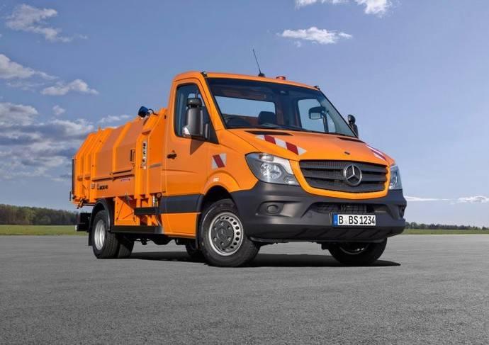 Daimler presenta sus vehículos comerciales más sostenibles en esta edición de la feria IFAT