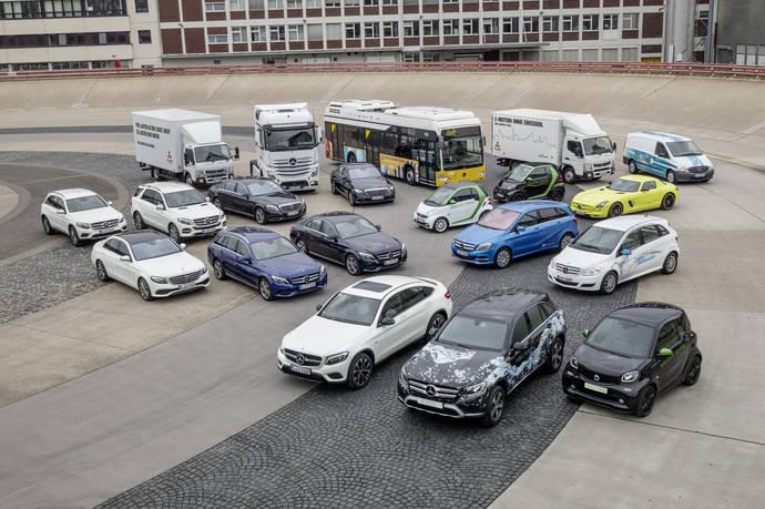Gama de Daimler que será construida en serie y funcionará con tecnologías verdes.