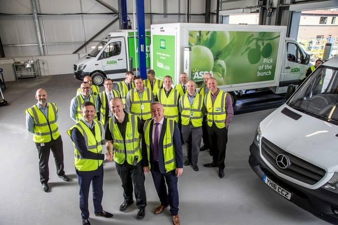 La compañía británica Asda realiza un pedido de 550 nuevas Sprinter