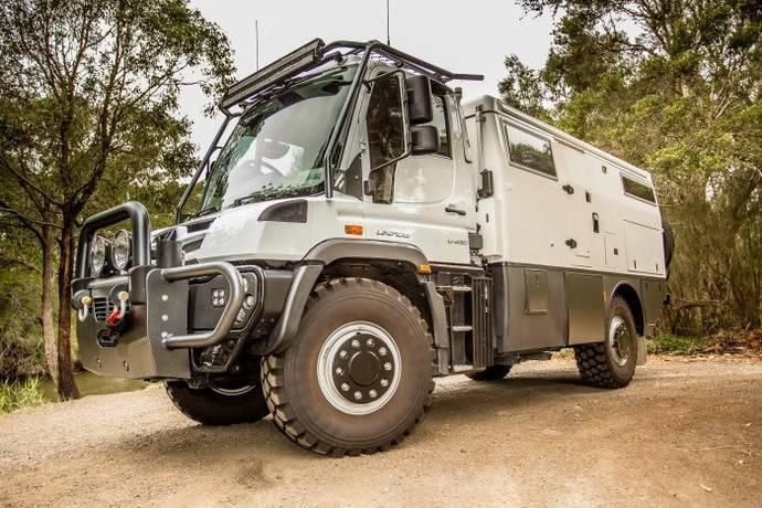 Daimler presenta la Mercedes-Benz Unimog