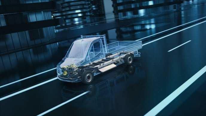 La nueva eSprinter de Mercedes se producirá en EEUU y Alemania