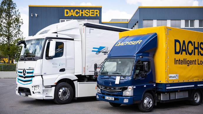 Dachser incorpora a su flota el vehículo eléctrico eActros de Mercedes-Benz