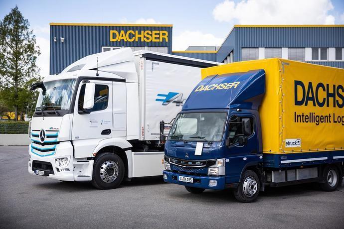 Dachser incrementa sus entregas libres de emisiones a once ciudades europeas
