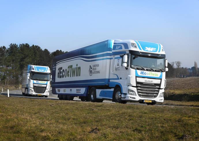 'EcoTwin' participa en el 'Desafío Europeo de los Conjuntos de Camiones'