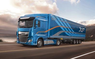 DAF lanza la nueva y mejorada generación de camiones CF y XF
