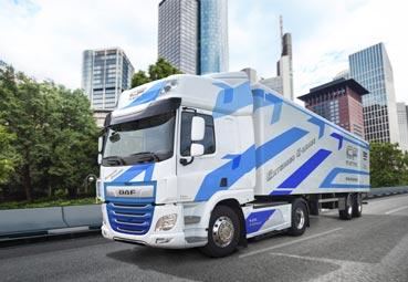 DAF presenta el nuevo CF Electric, que cuenta con una mayor autonomía