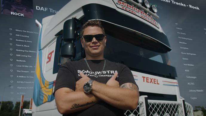 DAF Trucker Tracks, listas de Spotify para todos los camioneros