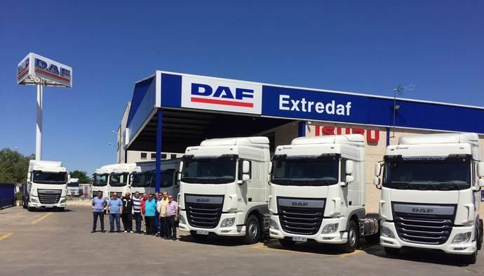 Codaitrans adquiere nueve tractoras DAF XF 460