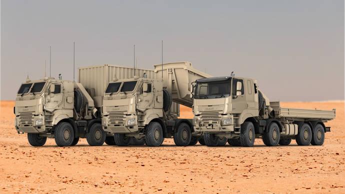 Gran pedido del ejército belga a DAF