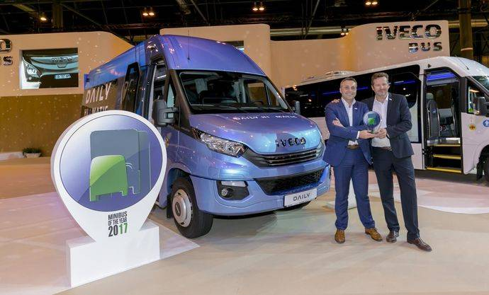 FIAA se encarga del patrocinio del II Minibus of the Year