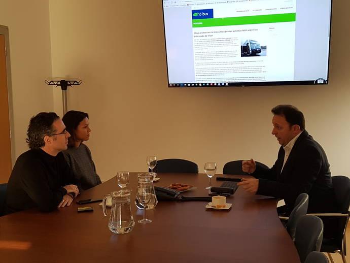 Dbus es visitado por Clúster de Movilidad y Banco Interamericano