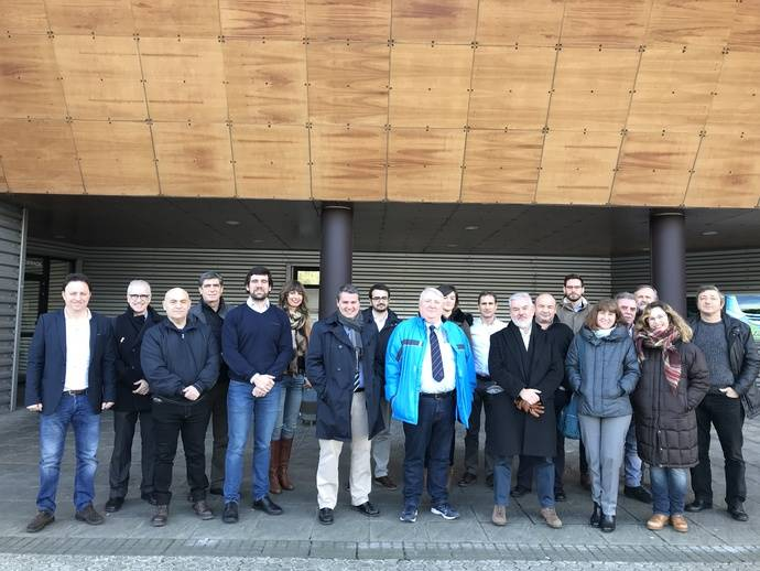 Federación de Trabajadores del Transporte visita instalaciones Dbus
