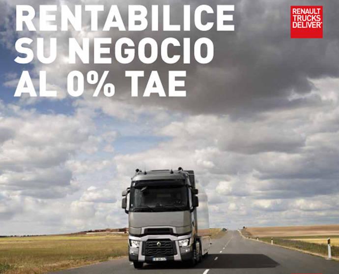 Renault Trucks ofrece una campaña de financiación para la Gama T