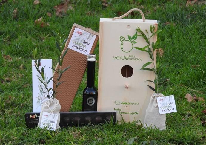1.000 árboles para plantar, felicitación navideña de Grupo Moldtrans