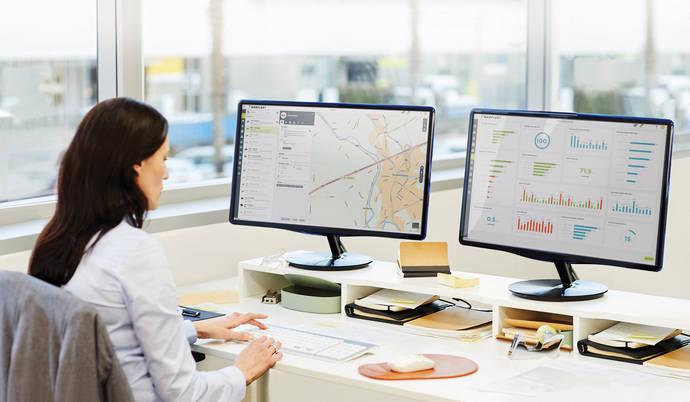 TomTom Telematics de Bridgestone pasa a llamarse Webfleet
