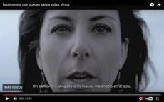Imagen del vídeo de la campaña de la DGT