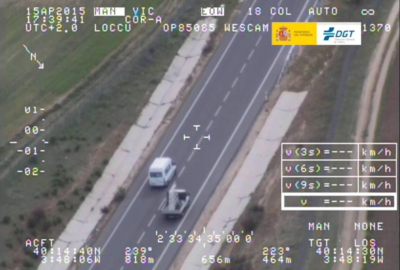 Nueva campaña de vigilancia de la DGT a las furgonetas del 23 al 27 de julio