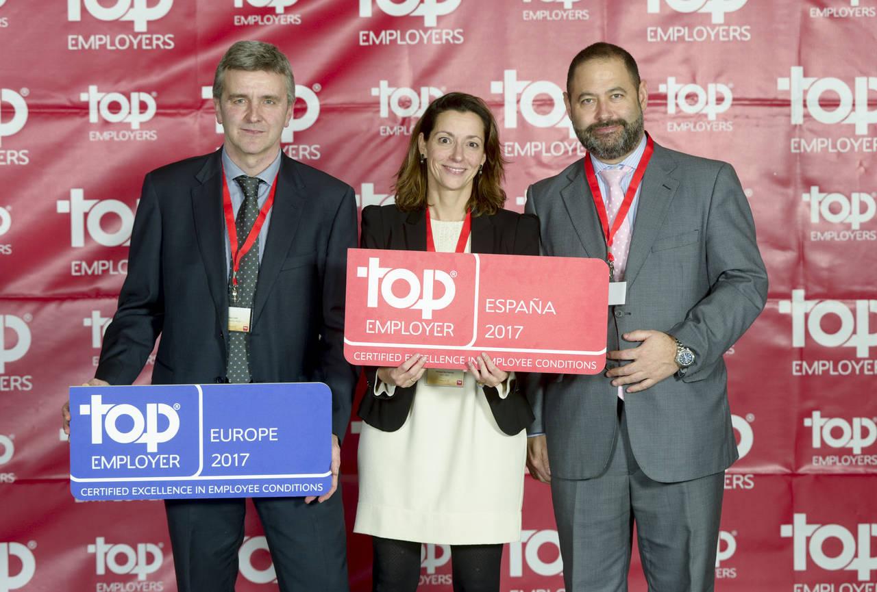 DHL reconocida de nuevo como Top Employer Global