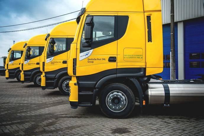 DHL realizará envíos con camiones de GNL