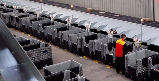 DHL invierte cinco millones de euros para incrementar el volumen de paquetes