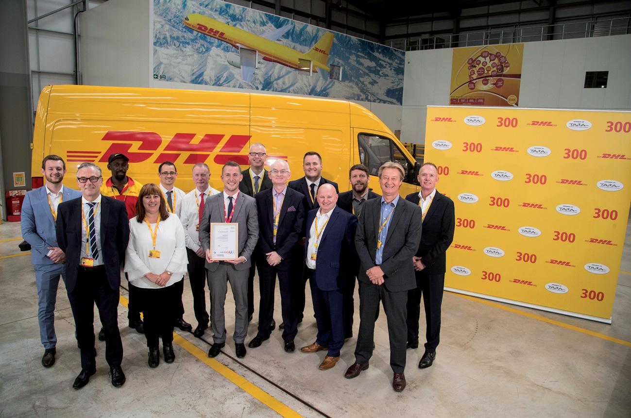 DHL logra su instalación 300 con certificado TAPA